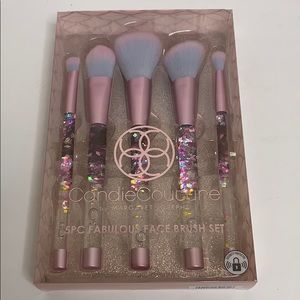 Candie Couture | 5PC Pink Mermaid Brush Set | New